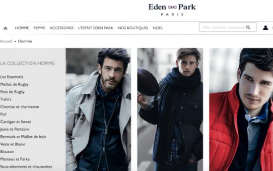 7df5dffbb1ad3 Eden Park confie sa Supply Chain E-Commerce à C-Log -